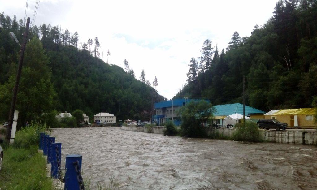 River Ehe-Uhgun' near Arshan