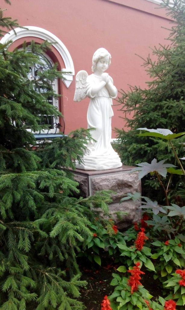 Angels live in Irkutsk city.