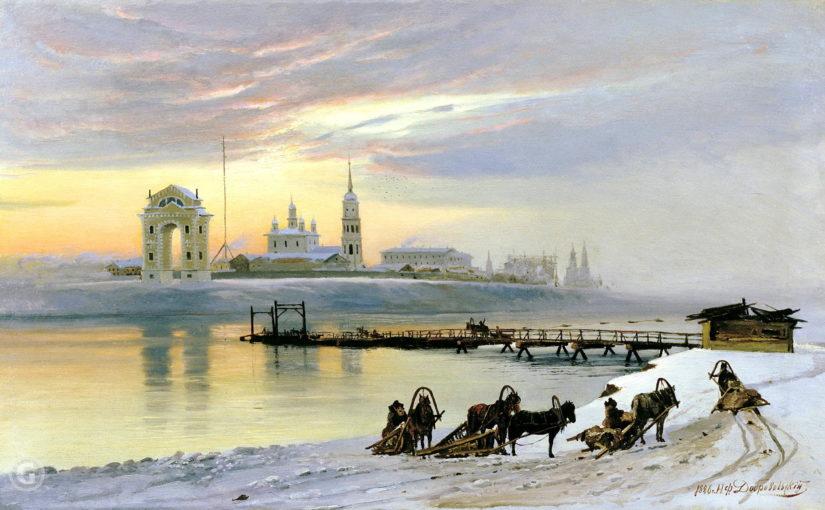 Feery to Irkutsk in 19th century
