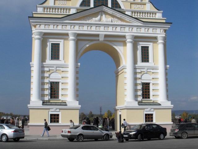 Иркутск._Московские_ворота