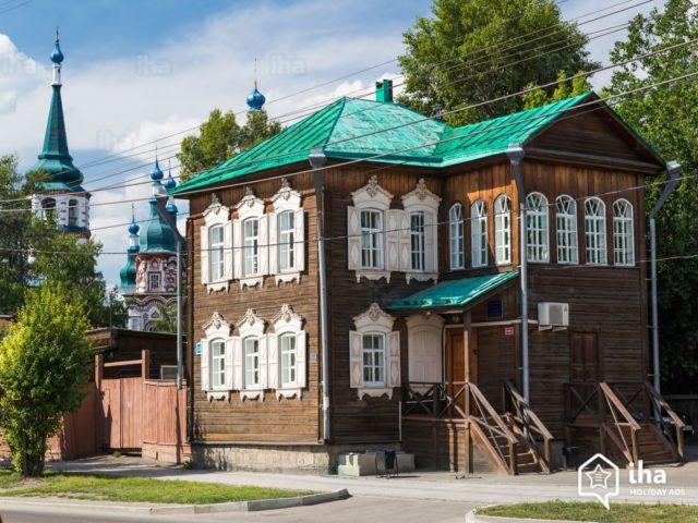 Irkutsk-oblast-Historical-wooden-house-in-irkutsk